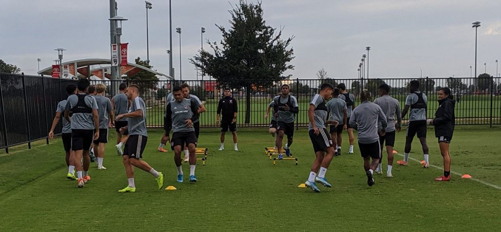 FC Dallas Training