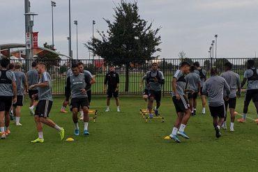 FC Dallas Training