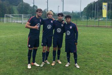 Four FCD U20s