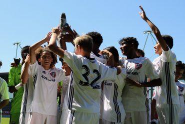 FCD U15s hoist Bayern Campus Cup