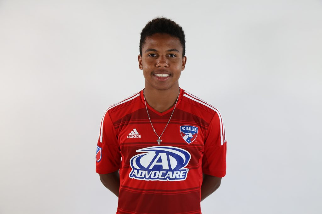 Weston McKennie with the FC Dallas Academy. (FCD Communications)