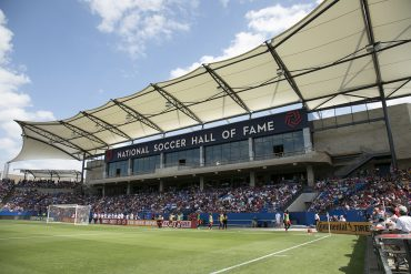 The Hall of Fame Stand in Toyota Stadium