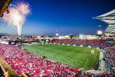 Toyota Stadium Fireworks