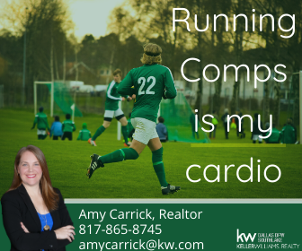 Amy Carrick, Realtor. Running comps is my cardio.