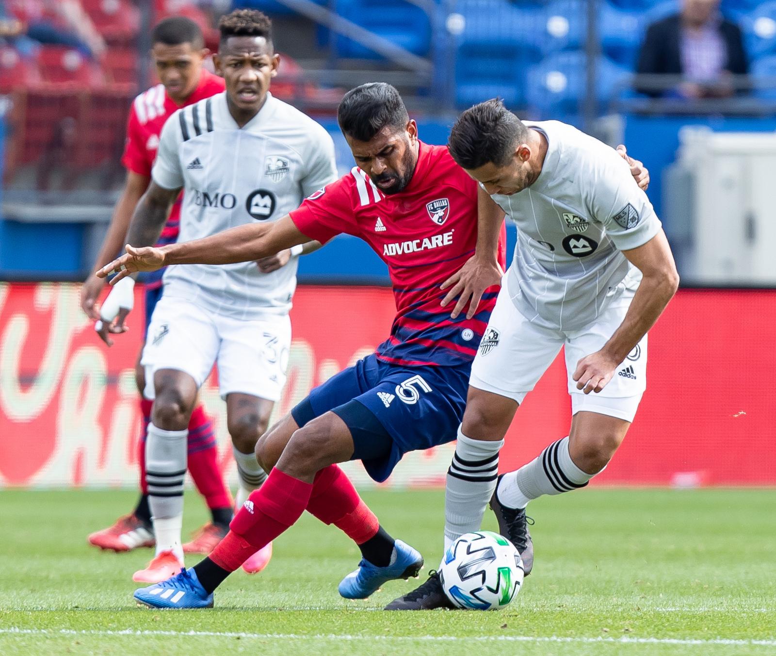 Santos: MARCH 07 MLS - Montreal at FC Dallas