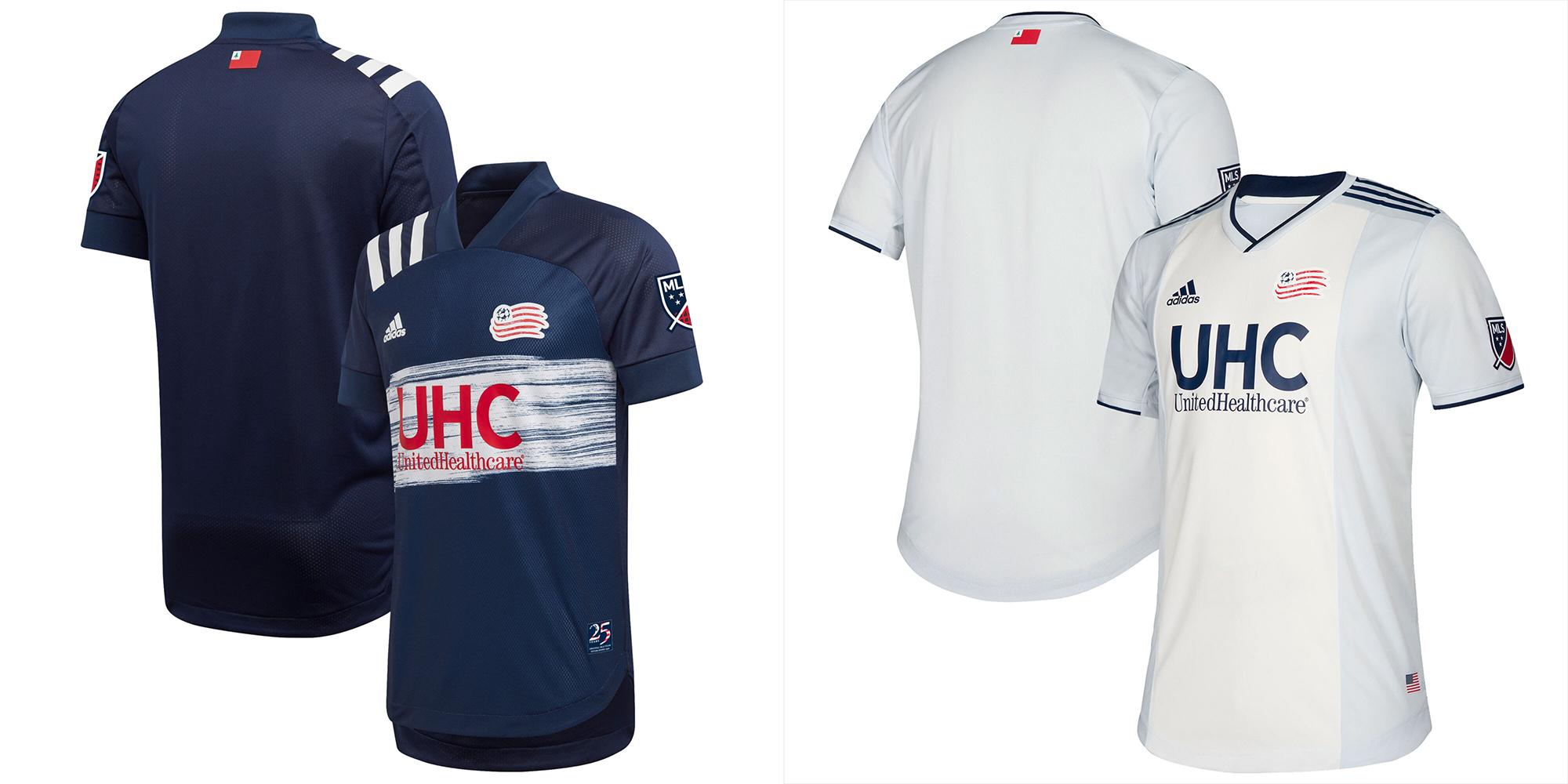 New England Revolution jersey 2020.