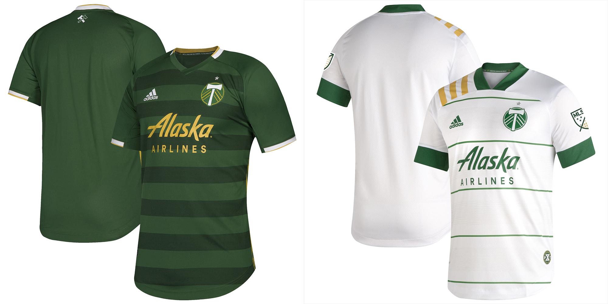 Portland Timbers jerseys 2020