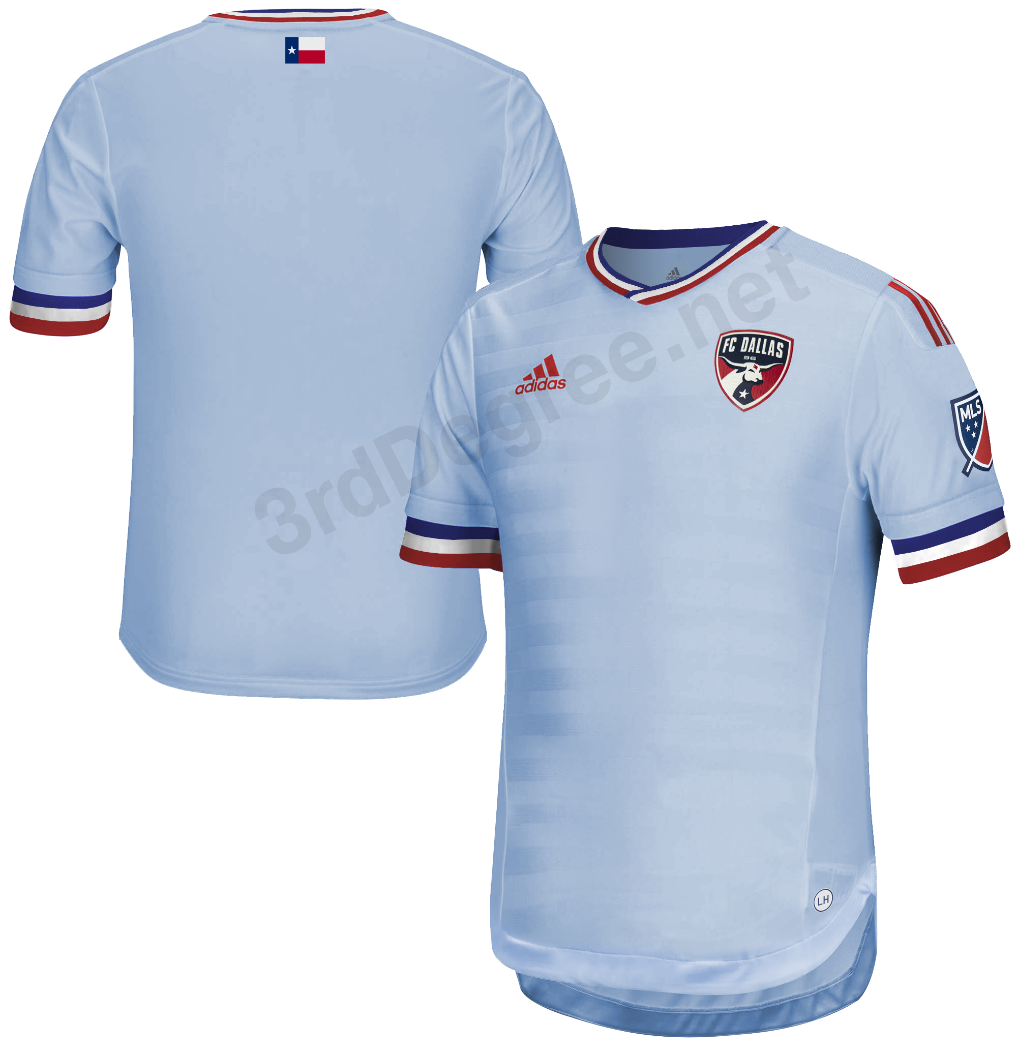 2021-2022 FC Dallas secondary jersey leaked - 3rd Degree