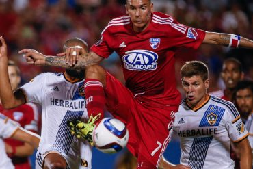 SOCCER: AUG 15 MLS - Galaxy at FC Dallas