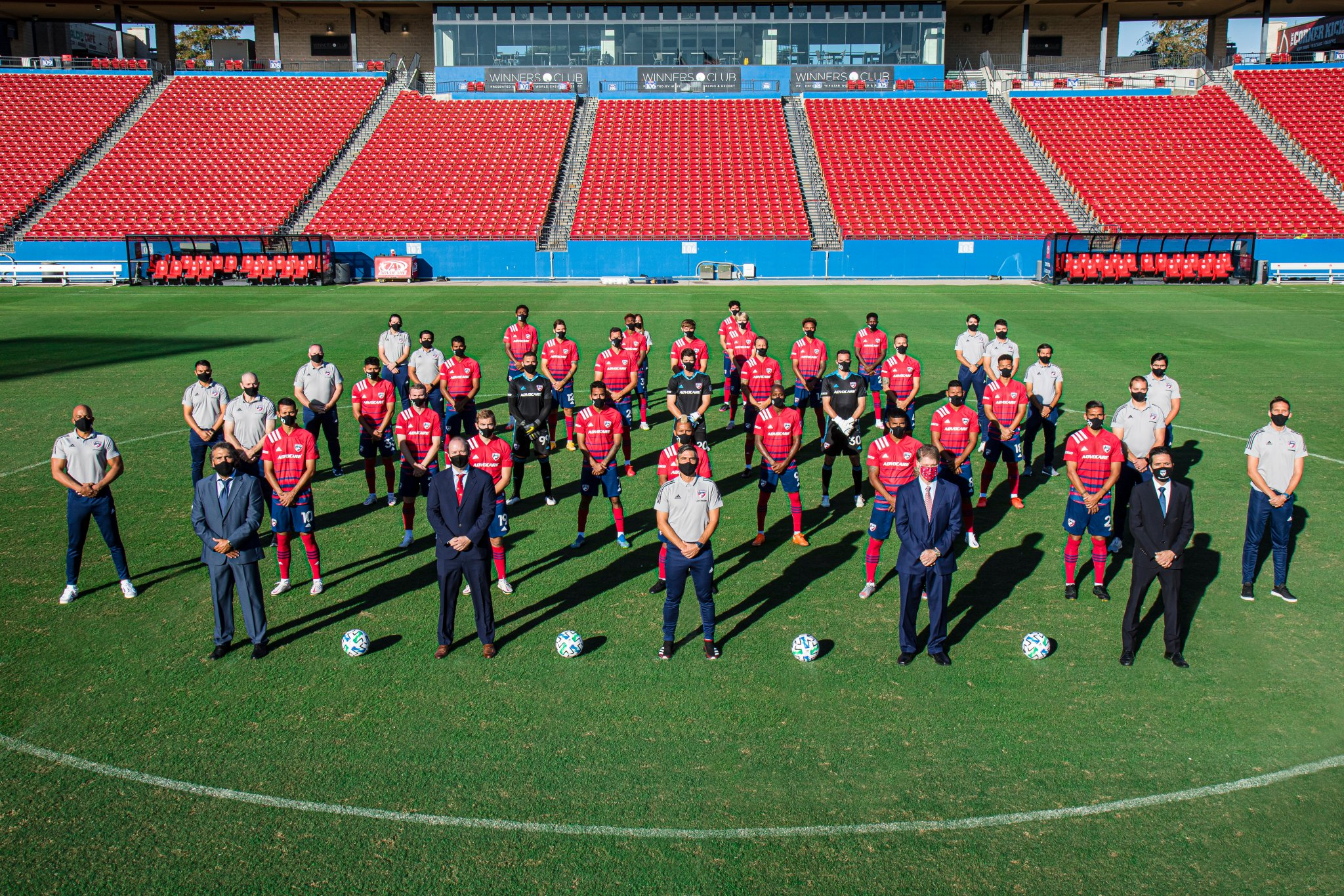 2020 FC Dallas Team Photo
