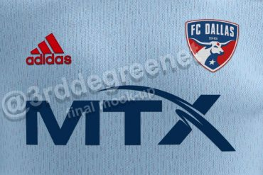 3rd Degree's FC Dallas 2021 secondary Kit mock up, fabric close up. (Dan Crooke, 3rd Degree)