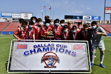 Dallas Cup U15s champions, FC Dallas.