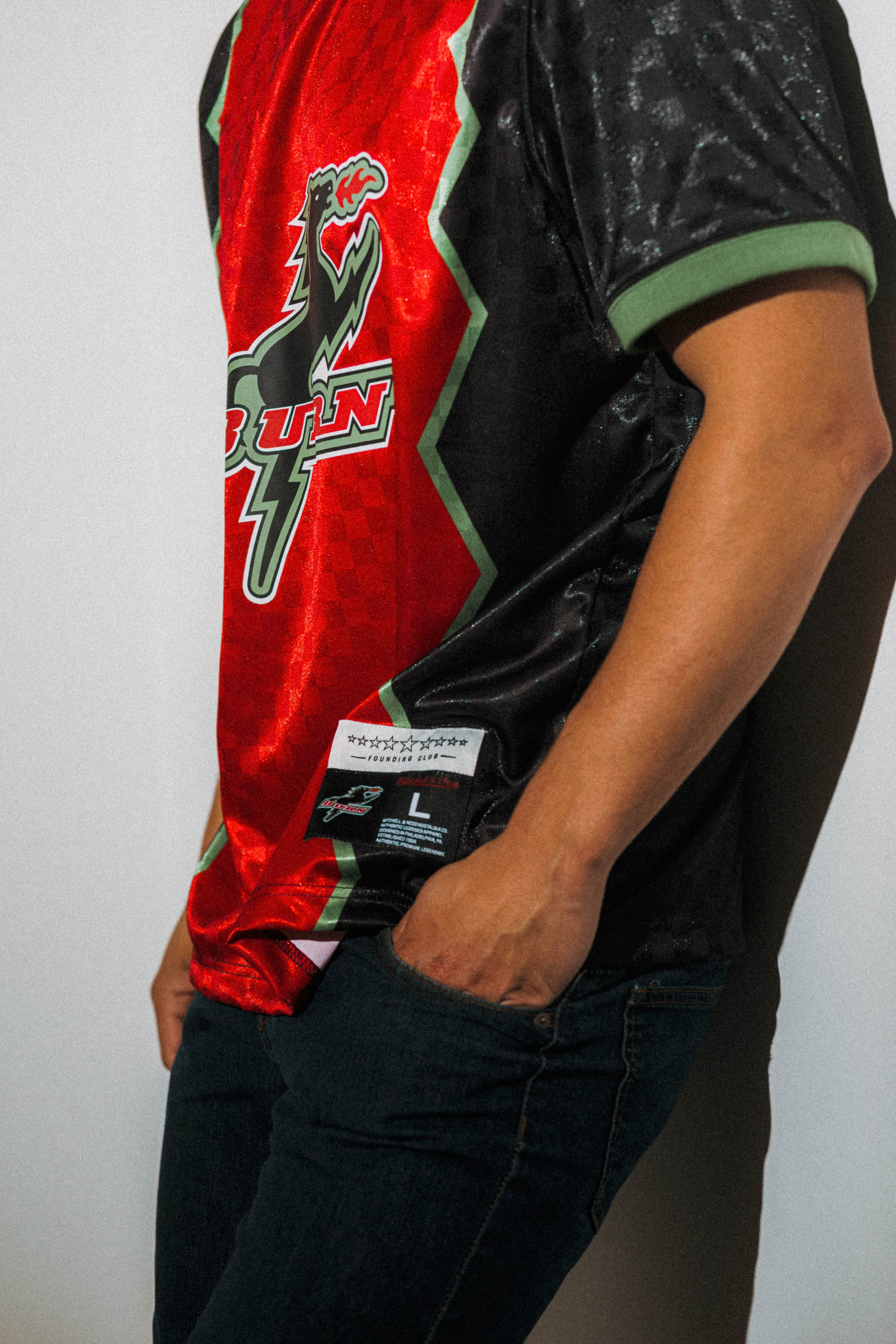 Mitchell and Ness - Reed Byrd - MLS-114