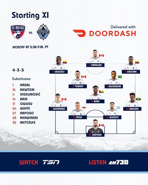 Van XI at FCD 7-4-21